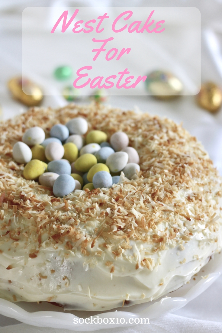 Nest Cake for Easter sockbox10.com