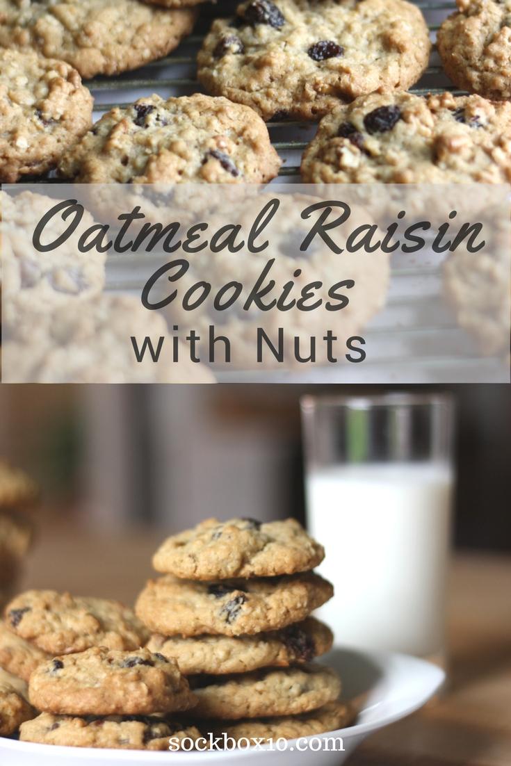 Oatmeal Cookies sockbox10.com