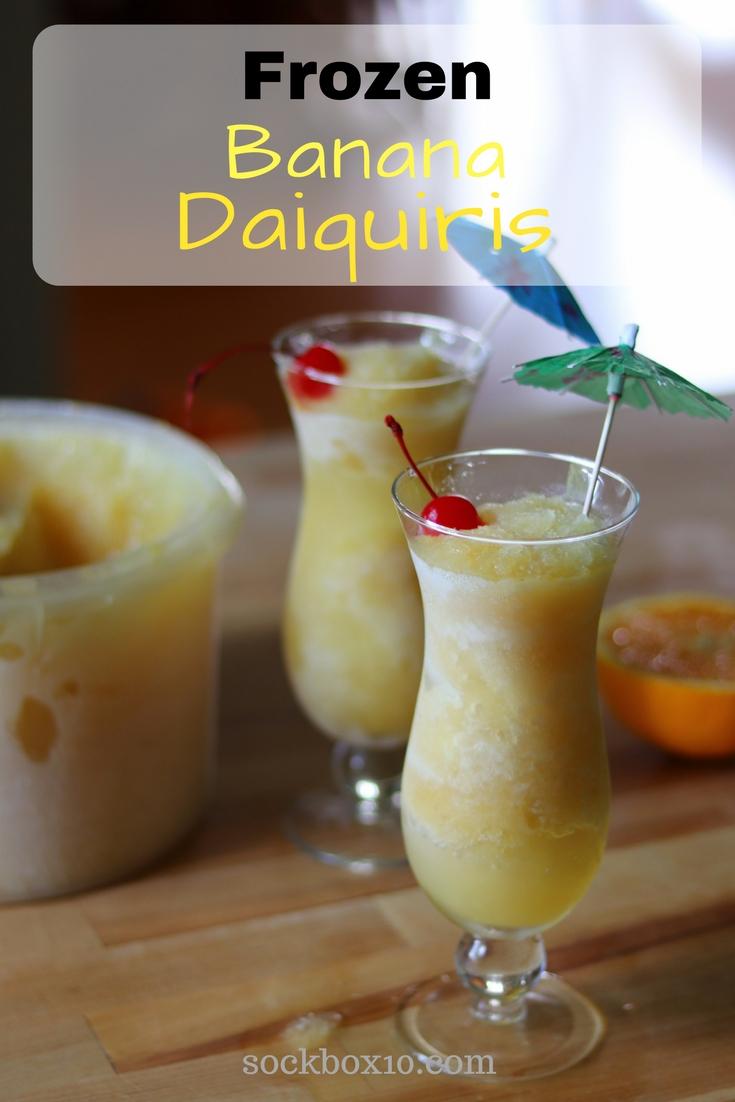 Frozen Banana Daiquiris sockbox10.com