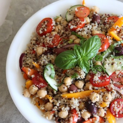 Italian Quinoa Bowl