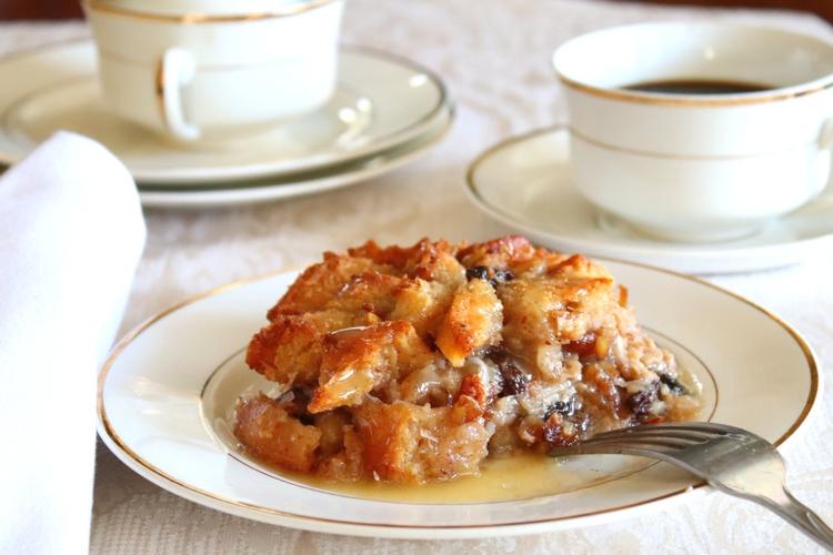 Bread Pudding with Whiskey Sauce sockbox10.com