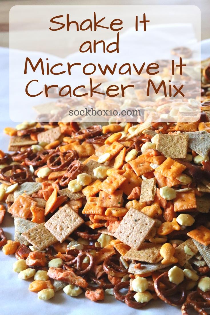 Shake It and Microwave It Cracker Mix sockbox10.com
