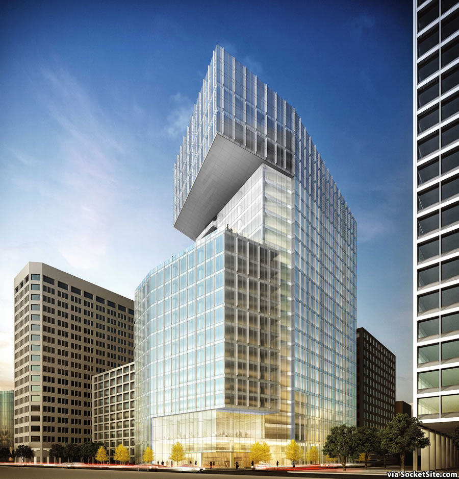 SocketSite  Big and Bigger Plans for an Oakland Tower