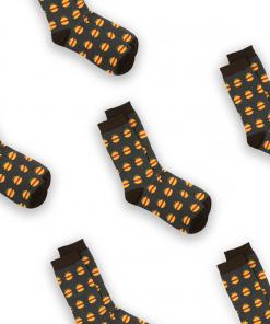 Burgers sock tile