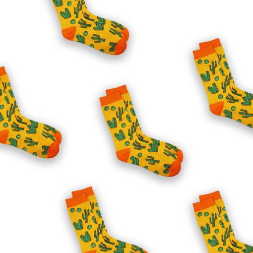 Cactus sock tile