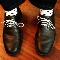 How To Lace and Tie Men's Dress Shoes - Socking Behaviour