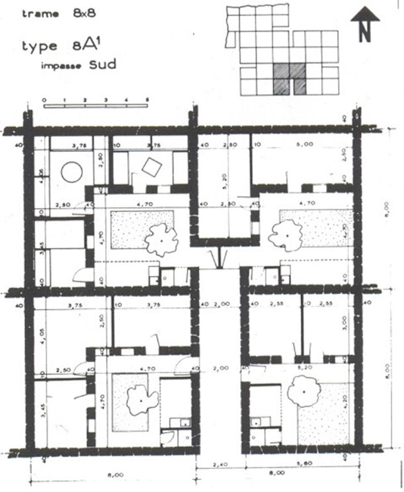 Understanding the Grid /1: Michel Ecochard's Planning and