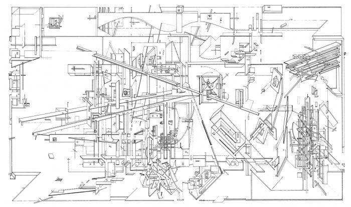 """Daniel Libeskind's """"Micromegas"""" (1979)"""