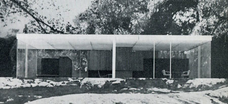 A 50 x 50 House for Mass Production 1951 An Unbuilt Project By L Mies Van Der Rohe  SOCKS
