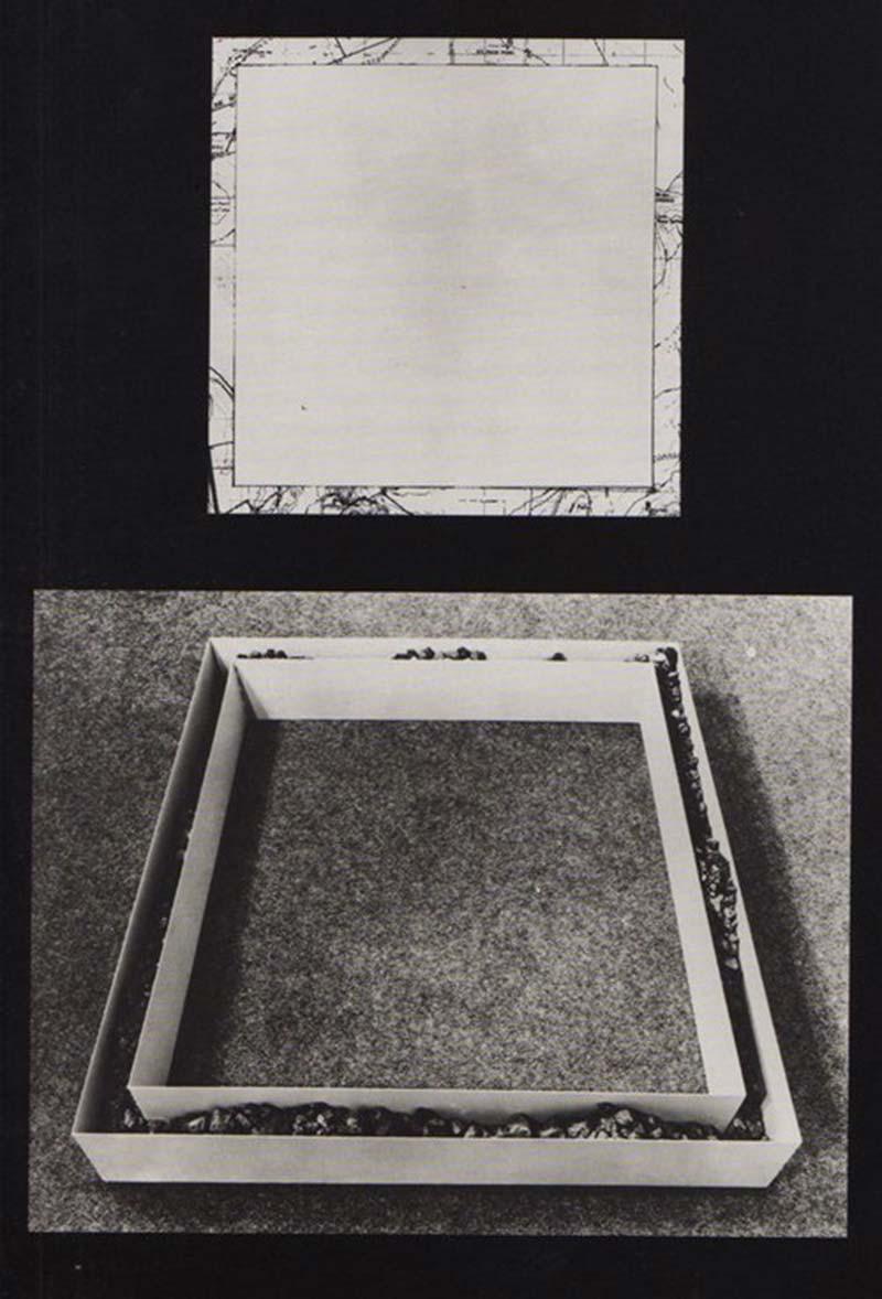 Robert Smithson: Monolake Non-Site 1968