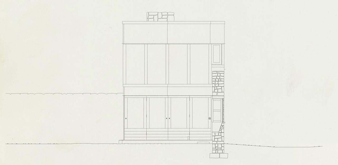 Alison and Peter Smithsons' Upper Lawn Pavilion (also