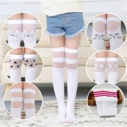 long school girl socks
