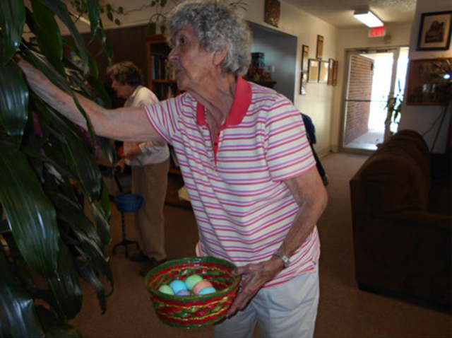 SUCAP Senior Citizen Easter Egg Hunt
