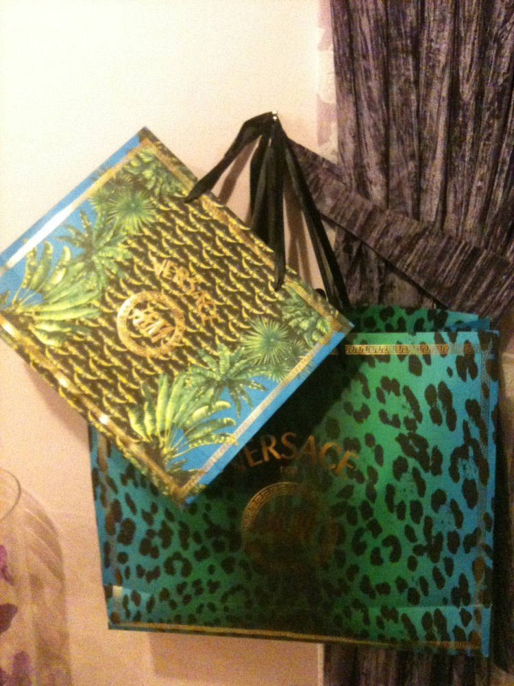 My Purchases from Versace for H&M (1/4)