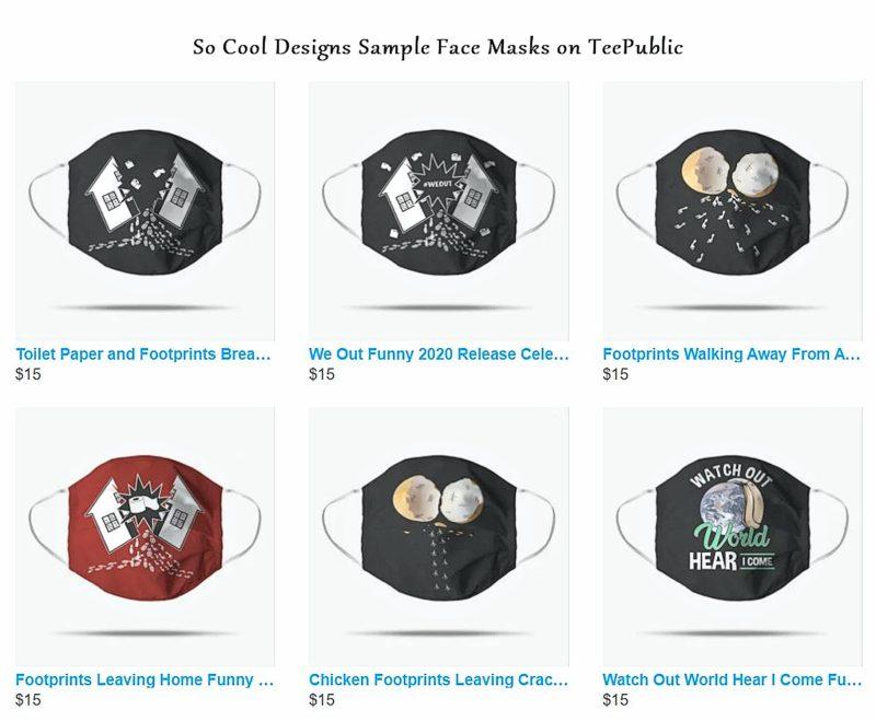 TeePublic Masks