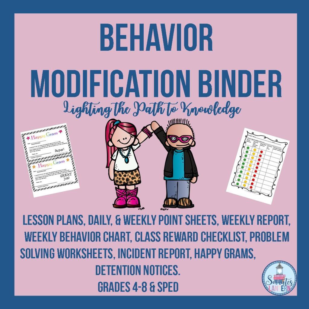 Behavior Modification Binder