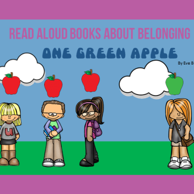 Read Aloud Books About Belonging: One Green Apple