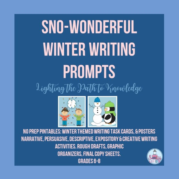 .Sno-Wonderful Winter Writing Prompts