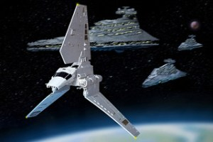 lambda class shuttle from star wars