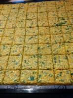Crackers bien carrés ...