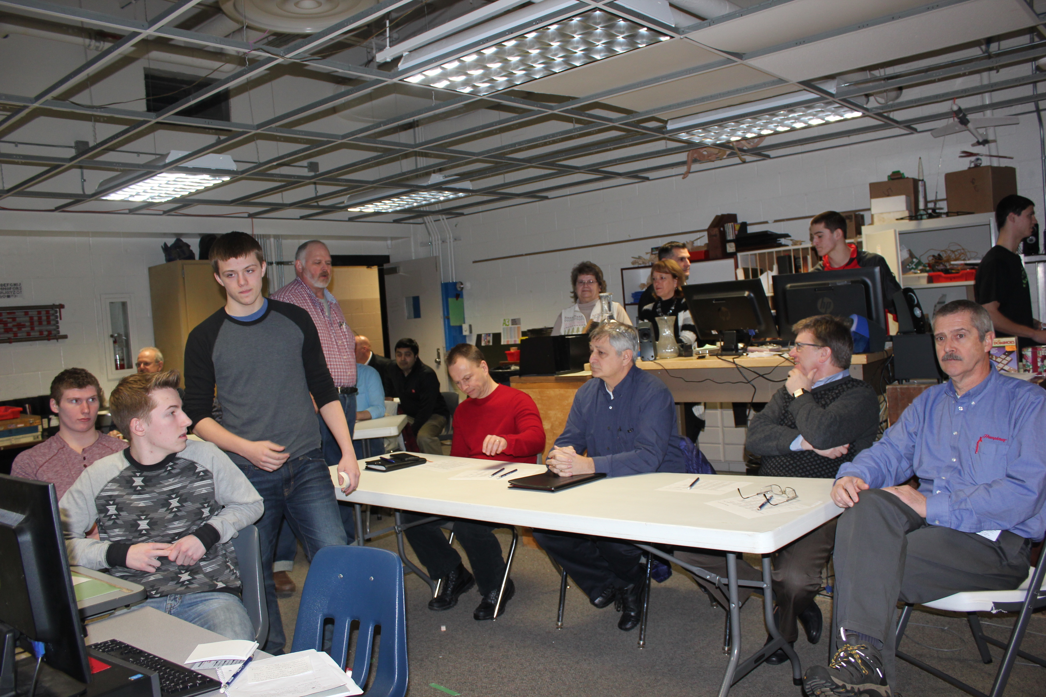 Project Lead The Way Utilized In Industrial Arts Program