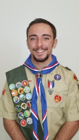 Brady Copeland recently achieved the rank of Eagle Scout as a member of Boy Scout Troup 251.