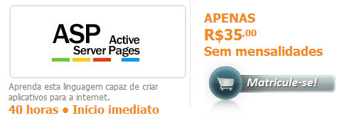 Curso de ASP - Active Server Pages