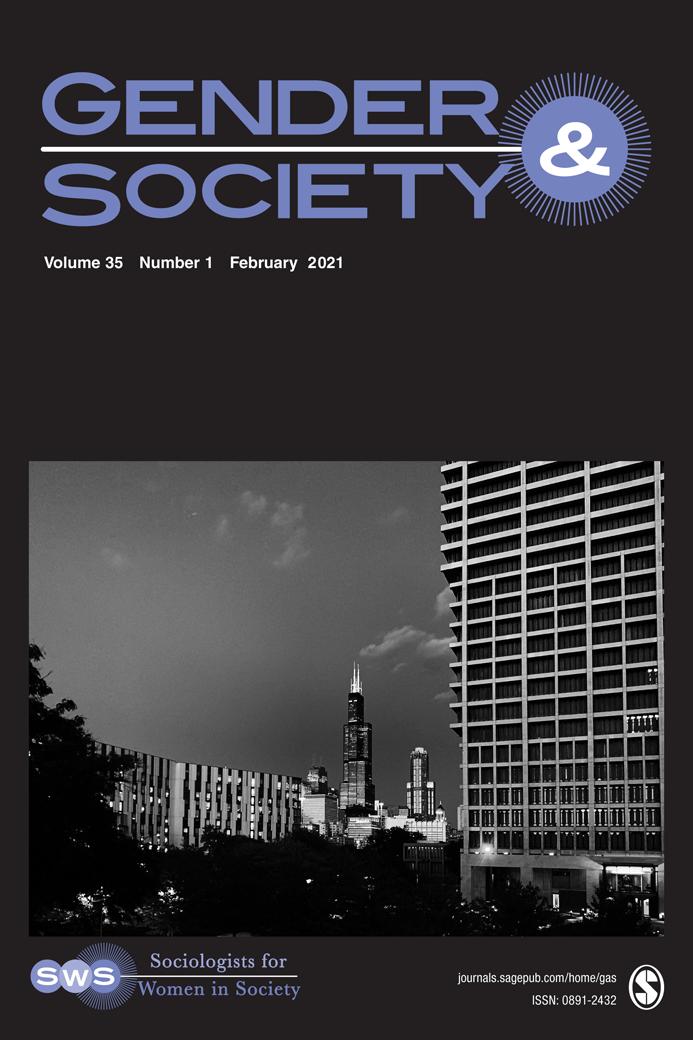 Gender & Society Cover Image