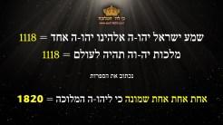 שמע ישראל כי לה המלוכה