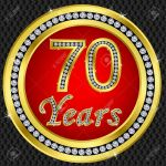11938111-70-years-anniversary-golden-icon-with-diamonds-vector-illustration-stock-vector