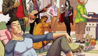 [REVIEW] Dream Daddy TPB dials the Adorable up to 11 4