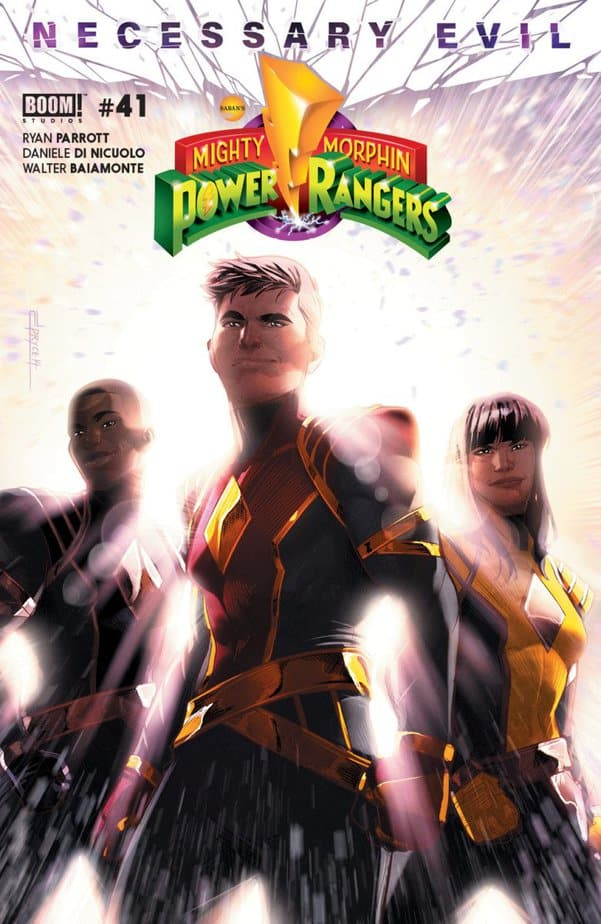 Mighty Morphin Power Rangers #41 - Omega Now, Omega Forever 1