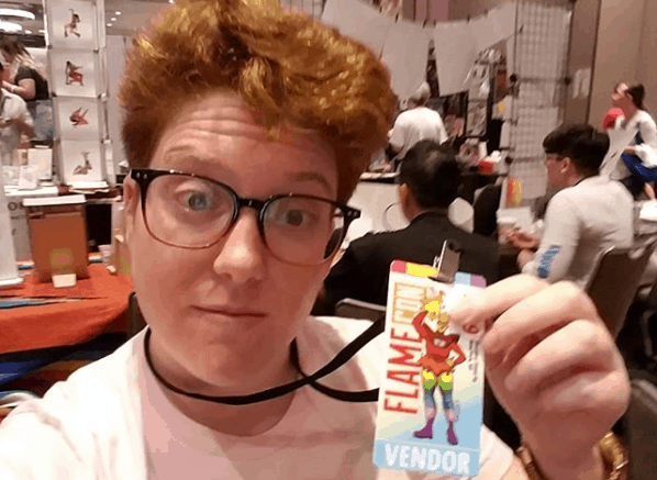 I Tabled at FlameCon, The World's Largest LGBTQ+ Con. Here's What I Learned. 4