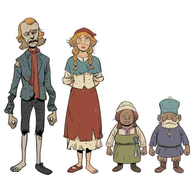 Folklords - Character Designs 1