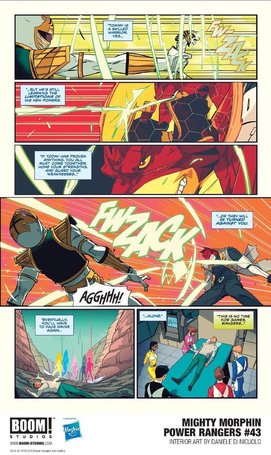 MIGHTY MORPHIN POWER RANGERS #43 - The Next Exciting Chapter + Previews 6