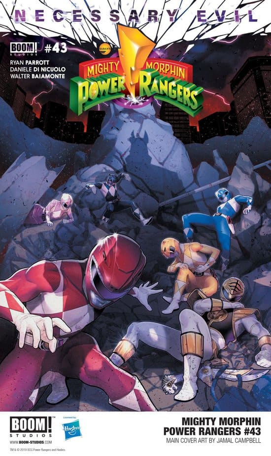 MIGHTY MORPHIN POWER RANGERS #43 - How the Mighty Fall 1