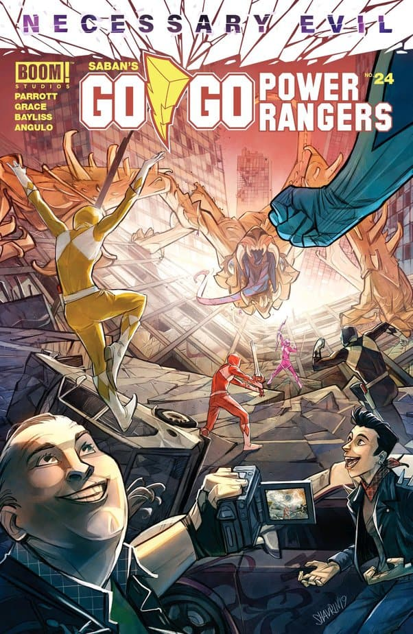 Go Go Power Rangers #24 - With Heart and Guts 1