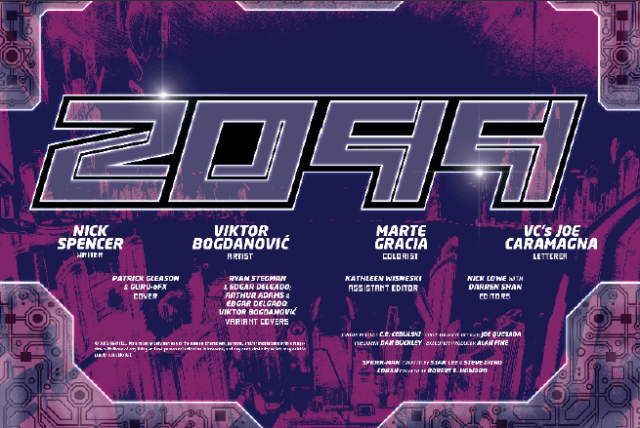 2099 ALPHA #1 - This Ain't Your Father's Future 4