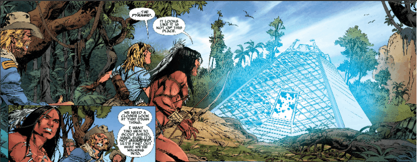 TUROK #3 - Revealed Mysteries Lead To More Mystery 6