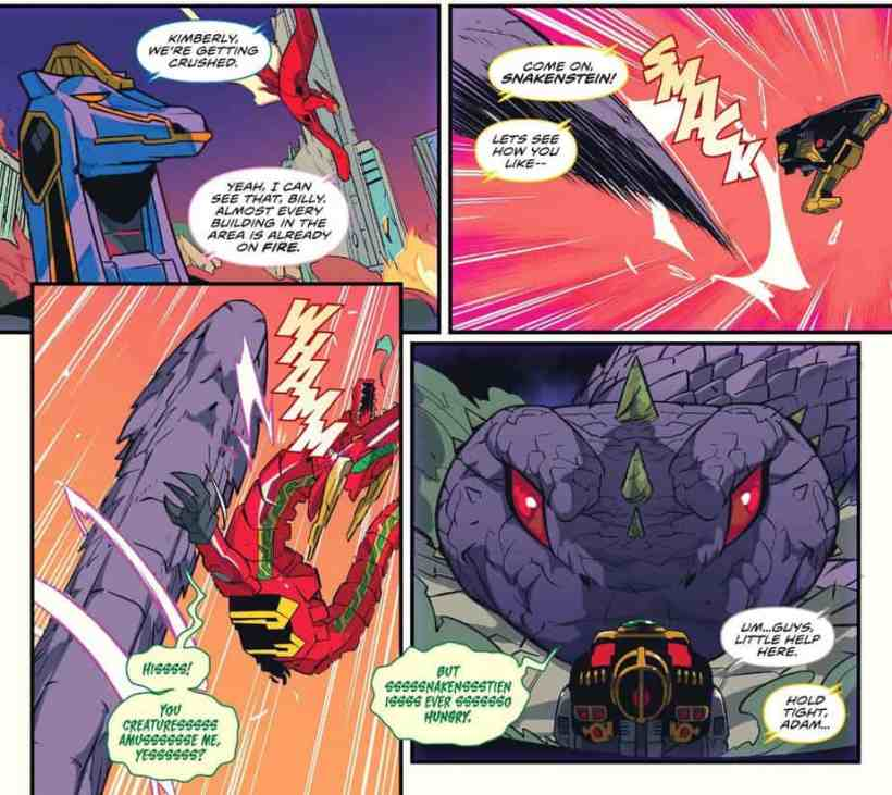 MIGHTY MORPHIN POWER RANGERS #46 - In Depth Play by Play Review 3