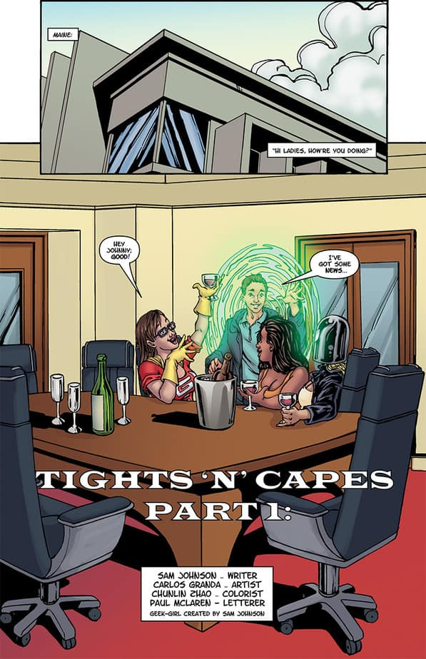 New GEEK GIRL and Preview Pages! 4
