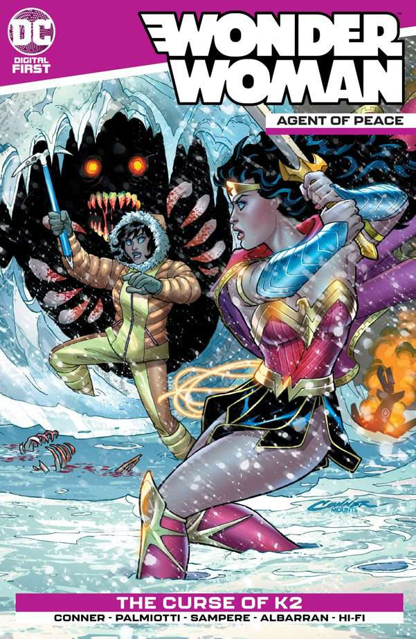DC Digital Preview - Wonder Woman: Agent of Peace #2 1