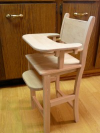 Wood Projects: doll high chair & Welcome sign  Thoughts ...