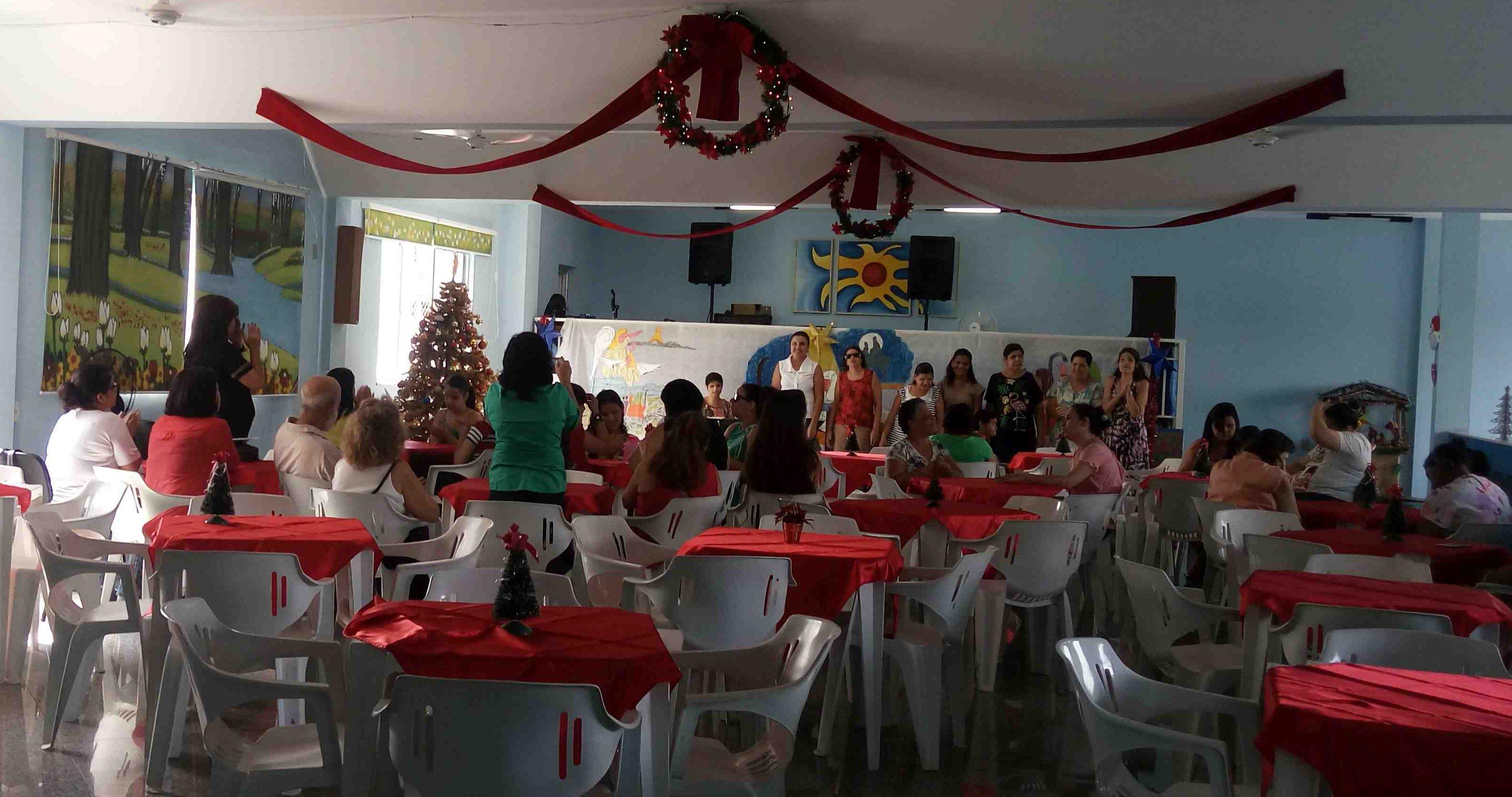 Natal com o Grupo Cosme e Damião
