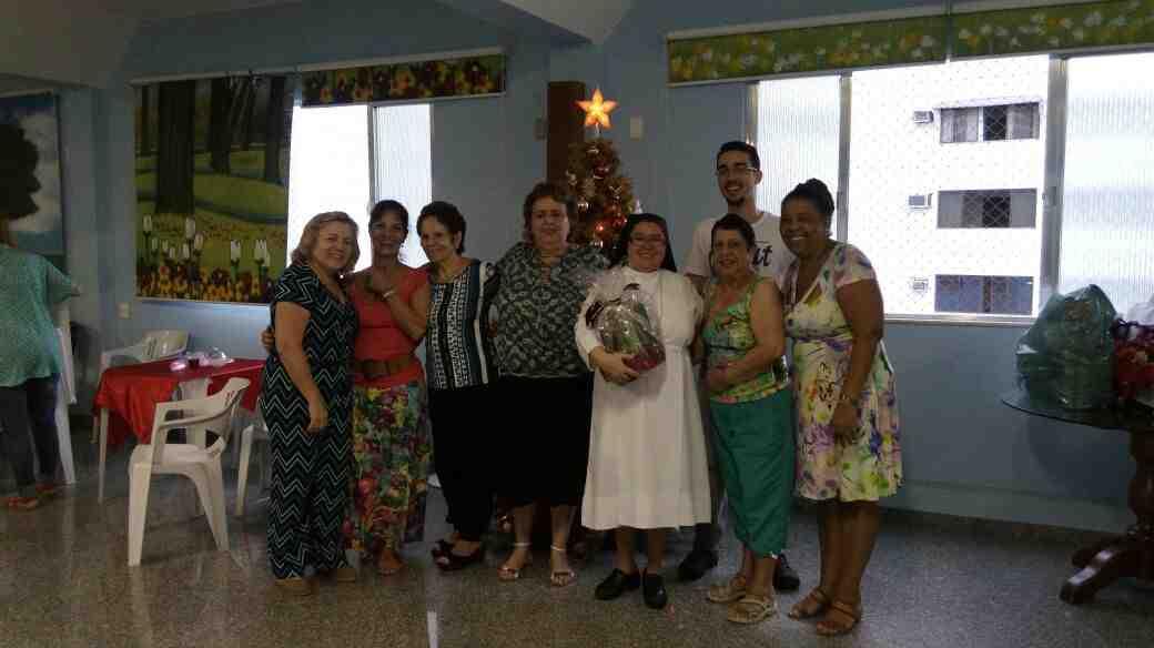 Visita Natalina do Grupo da Amizade