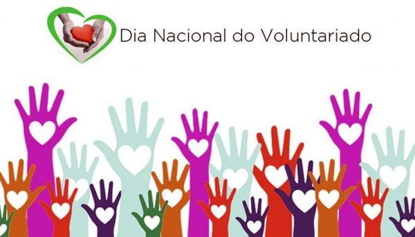 Dia Nacional do Voluntário  28 de agosto