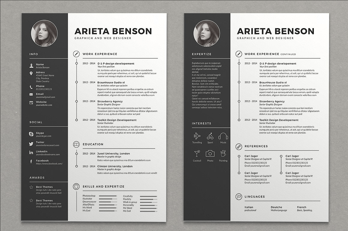 Unique Resume Samples Best Resume Templates That Will Showcase Your Skills