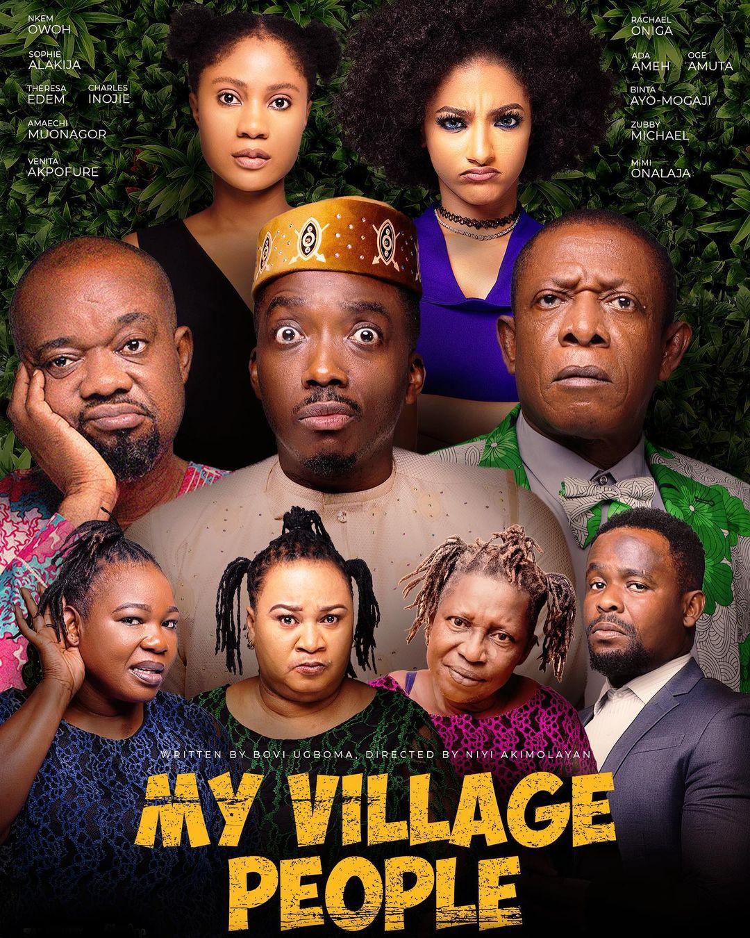 "Bovi Ugboma Drags Niyi Akinmolayan Over New Film ""My Village People"""