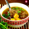 Meatball and Carrot Soup