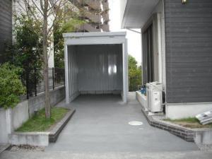 車庫工事例と価格